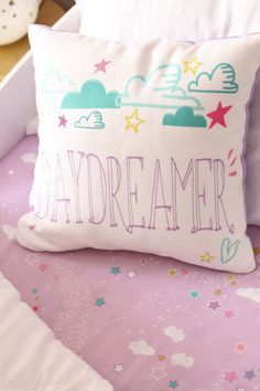 Daydreamer Pillow - Project Nursery