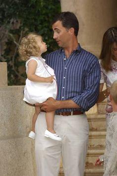 les futurs héritiers d'Espagne et leurs filles