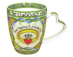 Royal Tara Irish Claddagh Ring Fine Bone China Mug