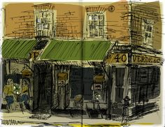 Verde & Co Ltd 40 Brushfield St London Notebooks, Journals, Town And Country, Big Ben, Illustrators, Sketches, Urban, London, Explore