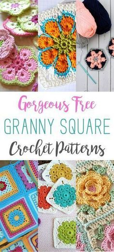 I have been noticing that the Free Crochet Pattern Collections have become very popular lately…so I decided to start a new little series and we will start with this one… Gorgeous Free Granny Square Crochet Patterns. Granny Squares have been around forever and they are just as popular as they always have been! I searched …