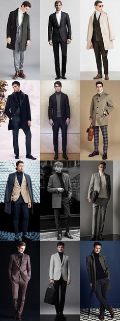 Men's Tailoring & Roll Necks Outfit Inspiration Lookbook