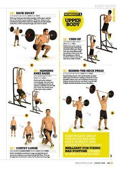 Men's Fitness UK - March 2015