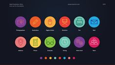 Icons collection 1 on Behance