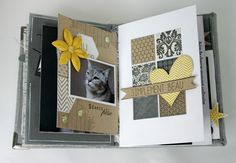 Mini album «Mini bonheurs» de Mery   Blog de Florilège Design