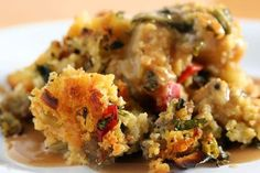 Miss Robbie shares her Cornbread Dressing Recipe    Click to see the Recipe ==> http://sweetiepiess.com/?p=55