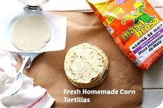 How to make Homemade Corn Tortillas. #SoFab #foodie #recipe #yum