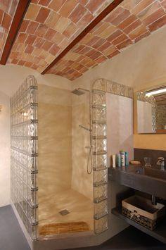 Glass Blocks, Bathroom Lighting, Bathtub, Frame, Loin, Furniture, Home Decor, Plantation Houses, Glass