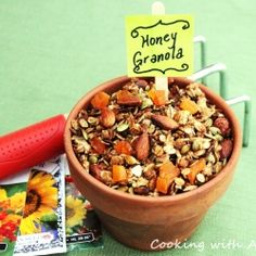 Honey Granola recipe