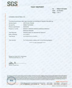 Certificates for Artificial hedges, Outdoor Artificial Boxwood Hedge, Privacy Hedge
