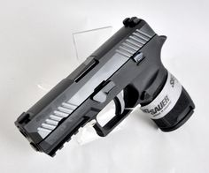 Sig Sauer P320 Compact Black with Night Sights 9mm 3.9""