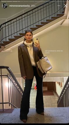 Chic Outfits, Trendy Outfits, Fall Outfits, Fashion Outfits, Winter Fits, Looks Street Style, Work Wardrobe, Girls Wardrobe, Autumn Winter Fashion