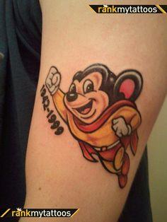 Cartoon Tattoos | Cartoon Tattoo Design