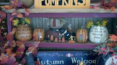 C & C Furnishings: FALL HAS ARRIVED! Fall Displays, Autumn Display, Berry Garland, Fall Crafts, Wood Crafts, Lanterns, Berries, Wreaths, Candles