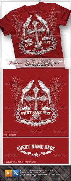 #Church #Event T-Shirt - Church #T-Shirts Download here: https://graphicriver.net/item/church-event-tshirt/1286150?ref=alena994