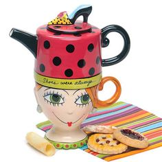 """Shoe Teapot - 3½""""W x 6½""""H"""