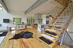 steel support beam home - Google Search