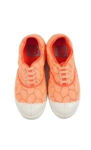 English embroidery coral tennis - Bensimon