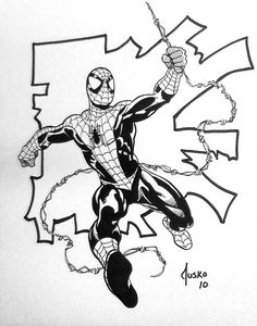Spider-Man by Joe Jusko