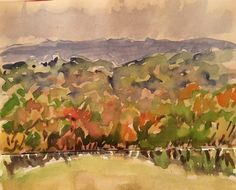 2016-11-18 View to Ashdown Forest (Artist Mary)