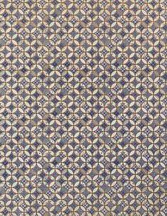Yuzen Blue Overlapping Circles Fine Paper