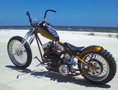 Beach Sled | Motorbike | Totally Rad Choppers