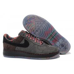 outlet store a77e3 4bd32 Bast Nike Air Force 1 Herr Low Svart Vit Online Skor