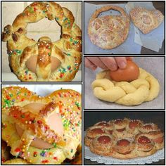 Easter Recipes, Holiday Recipes, Biscotti Cookies, Italian Desserts, Cannoli, Sweet Cakes, Holidays And Events, Finger Foods, Doughnut