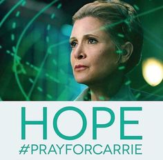 We will miss you, Carrie. You are now One with the Force. And the Force is with You.