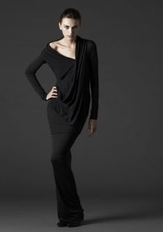 Knit top and skirt from the Enrapture group of Urban Zen Collection by Donna Karan