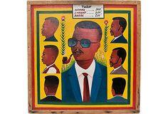 1960s African Barbershop Sign