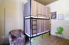 Little Quarter is located in Nerudova street, directly on the famous Royal Route, which winds through the heart of the historical centre of Prague. Dormitory, Hostel, Loft, Bed, Furniture, Home Decor, Bedroom, Decoration Home, Dorm