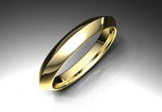 Alianza de oro amarillo de 18K modelo Triángulo Ref.: 750AMA35TRIANGULOOro amarillo de 18Kmodelo Triángulo superficie brillo #bodas #alianzas #novia | cnavarro.com
