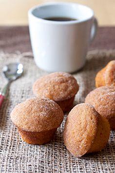 Cinnamon Sugar Pumpkin Muffins—to make gluten free!
