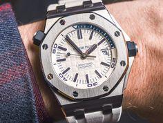 Audemars Piguet Royal Oak Offshore Diver 'Funky Colour Edition' Watches For 2017 Hands-On
