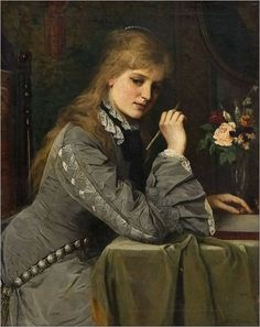 Sir Samuel Luke Fildes was an English painter and illustrator born in Liverpool and trained at the South Kensington and Royal Academy schools.(English, 1843 – 1927)