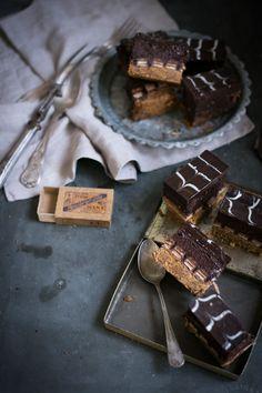 La Cocina de Carolina: Cheesecake de chocolate y Kit Kat