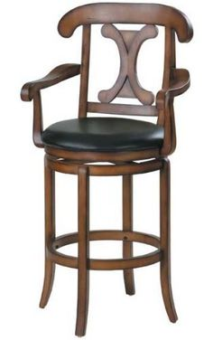 High Back Swivel Stool By Acme Furniture From Texas Gallery Furniture Large Home Office Furniture, Office Furniture Stores, Home Bar Furniture, Acme Furniture, Coaster Furniture, Cool Bar Stools, Swivel Bar Stools, Indoor Bar, High Back Chairs