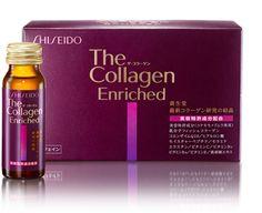 Collagen shiseido Nhật Bản dạng nước có chứa 18 tinh chất và thảo dược trong mỗi lọ giúp đẹp da, ngăn ngừa vết nhăn, lão hóa da
