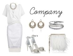 """""""Company"""" by anaelle2 ❤ liked on Polyvore featuring Jonathan Simkhai, Givenchy, Red Herring, Yves Saint Laurent, Dolce&Gabbana, Jimmy Choo, Chanel and Cartier"""
