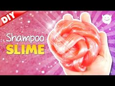 how to make clear slime with shampoo
