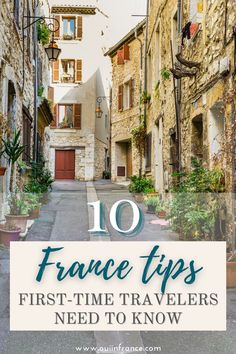 If you're heading to #France soon for your very first French vacation, here are my top France tips first-time travelers need to know. With a little cultural knowledge, you'll be perfectly… Paris Tips, Paris Travel Tips, Europe Travel Tips, Time Travel, Paris France Travel, Medieval Town, Paris Hotels, South Of France, Cool Places To Visit
