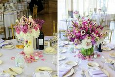 Some colorful options for bridal showers