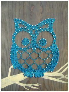 string name art | String Art: Otis the Owl