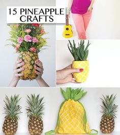 15 pineapple crafts