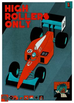 High Rollers Only #illustration #poster