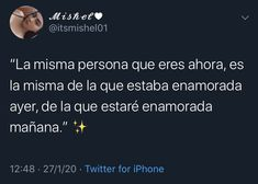 Twitter Quotes, Tweet Quotes, Snapchat Quotes, Captions For Instagram Love, Book Quotes, Life Quotes, Cute Spanish Quotes, Cool Phrases, New Funny Memes
