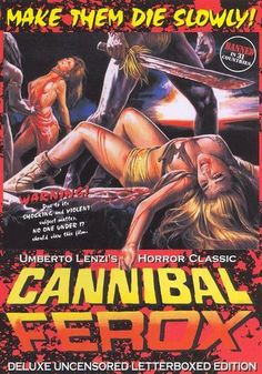 Cannibal Ferox [Deluxe Uncensored Letterbox Edition] [DVD] [1981]