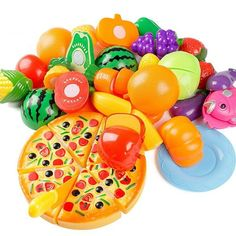 24 Cái/bộ Bếp Giả Vờ Chơi Đồ Chơi Trái Cây Rau Trẻ Em Early Education Set Favor Nguồn Cung Cấp Trẻ Em Đồ Chơi Cổ Điển Brinquedos