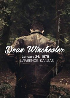 It's already January 24th here so Happy Birthday to The one and only Dean Winchester!